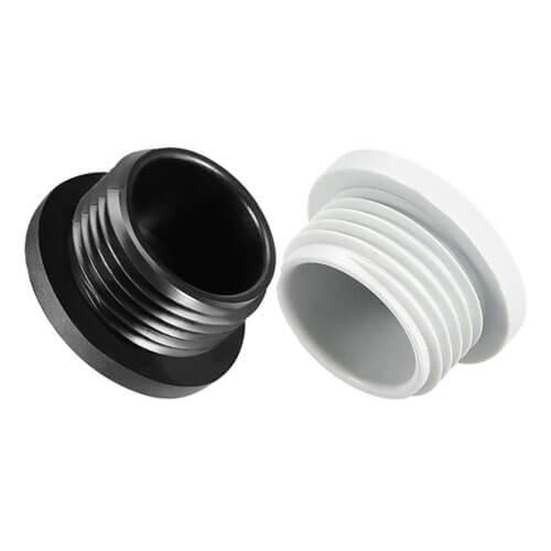 PG7 Round Nylon Screw Hole Plugs - 50pcs