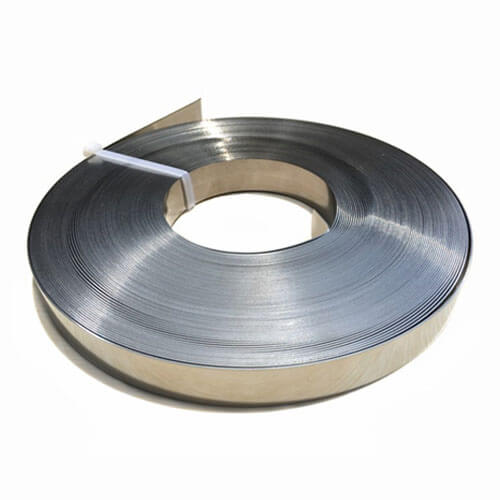 "3/8""x0.03"" 304 Stainless Steel Strap - 100ft"