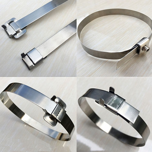 "3/4""x0.03"" 304 Stainless Steel Strap - 100ft"