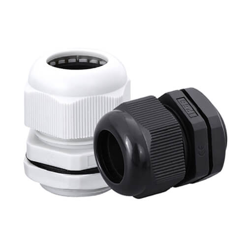 PG7 Waterproof IP68 Nylon Cable Gland - 50pcs